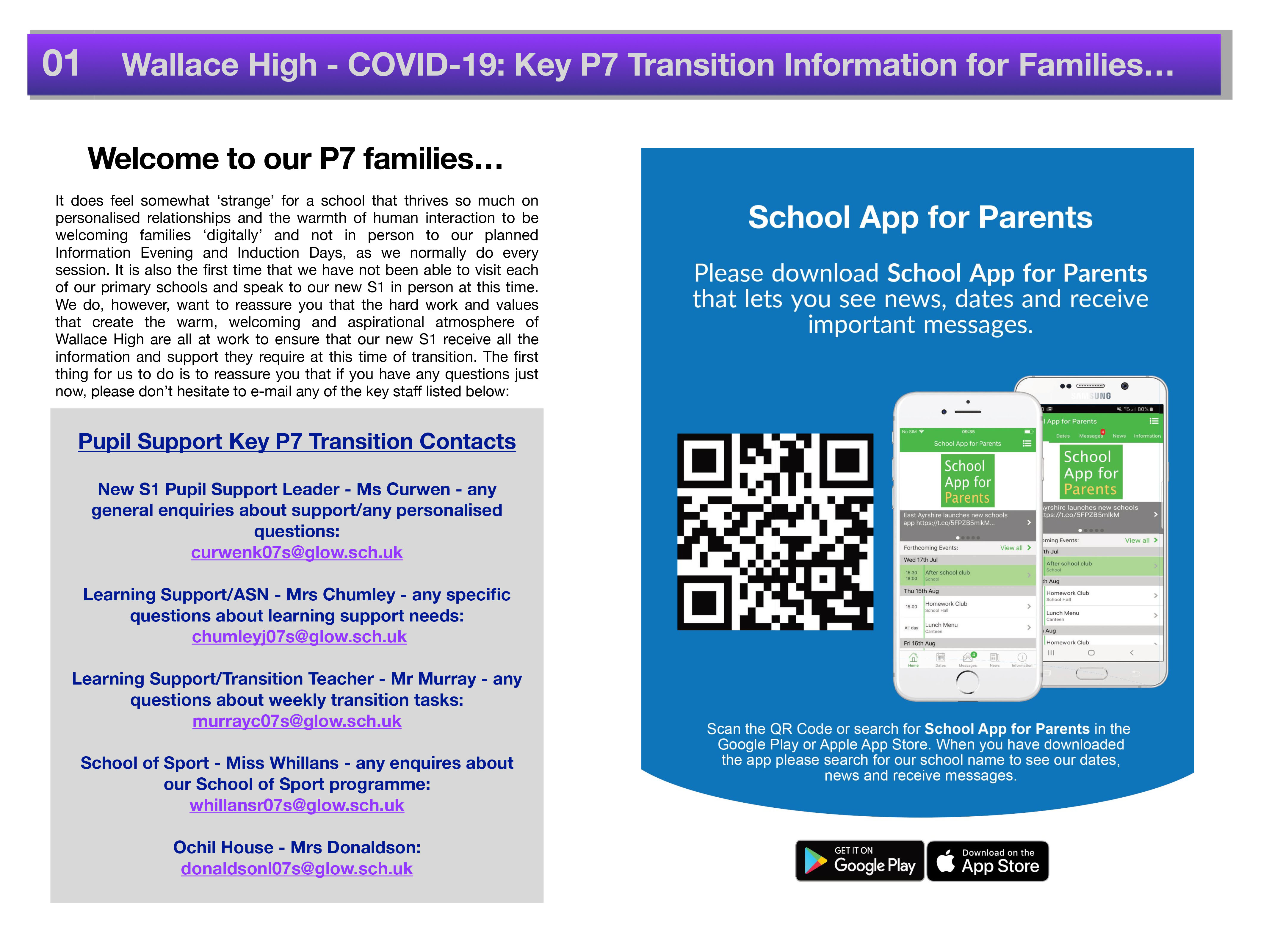 Covid 19 Primary Transition Parental Information 2020 1